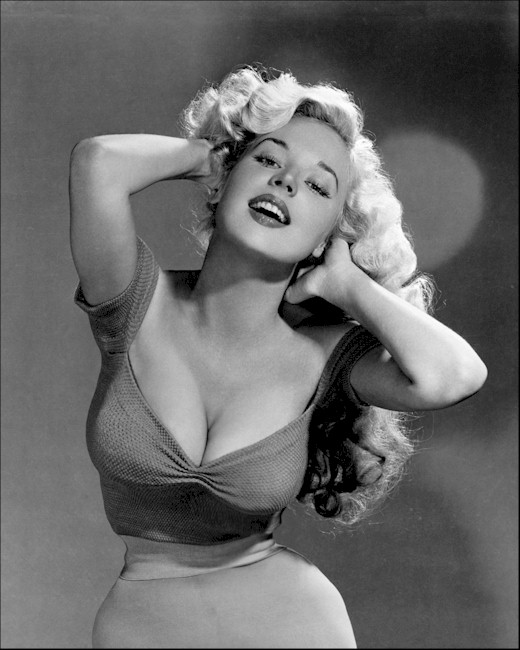 Betty Brosmer Perfect Hourglass Figure
